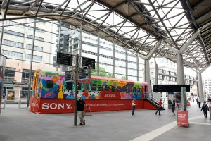 Sony Bravia Carriage Road show