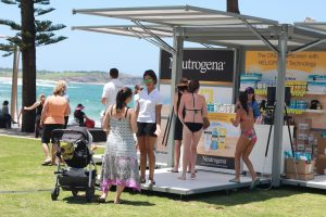 The Exhibitionco Kube at Dee Why Beach