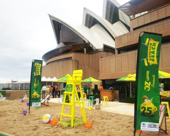 Oz Lotto at the Opera House