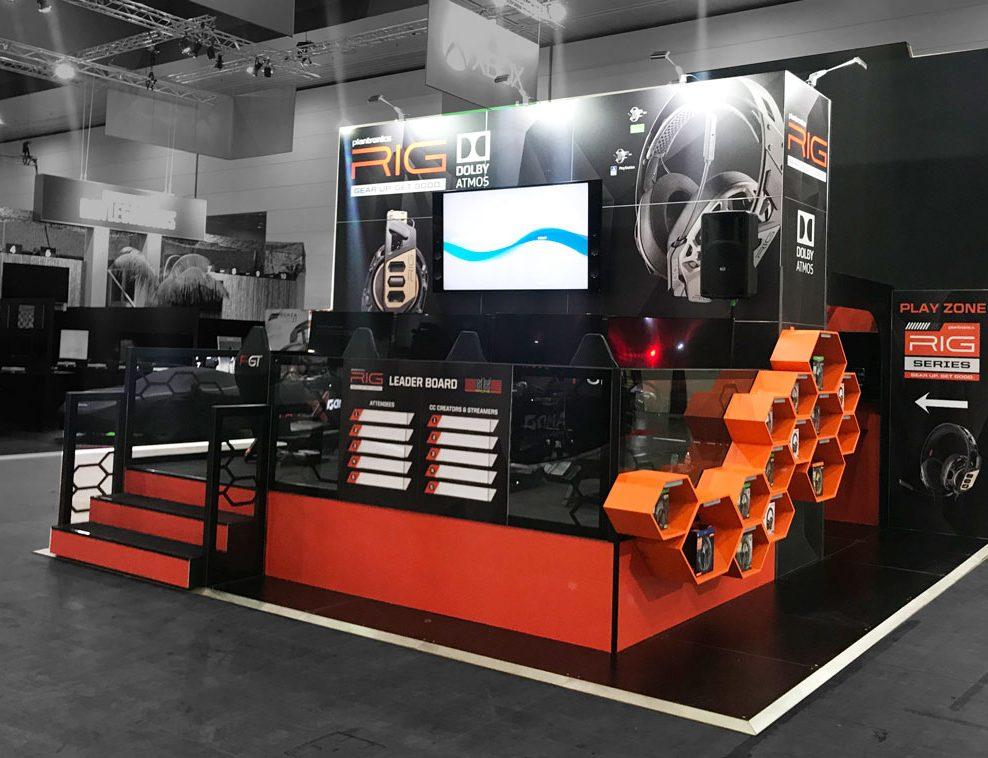 Plantronics Exhibition Stand