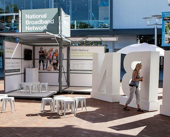 Exhibitionco Kube for NBN