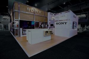 Sony Exhibition Stand at Integrate