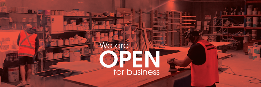 Open for Business – If you can use any of our services please call us on 02 9972 1900