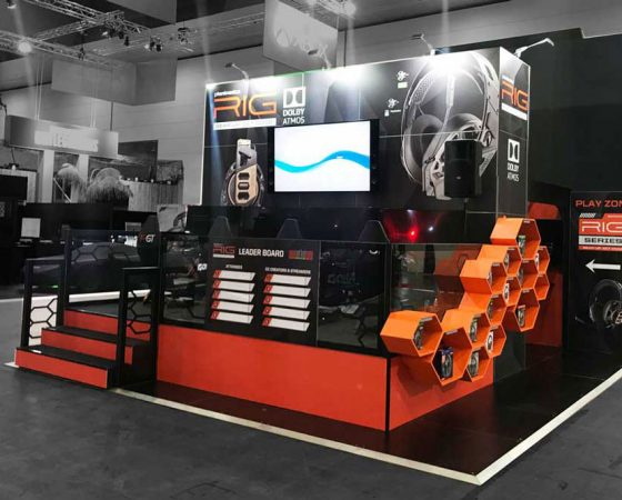 Plantronics Exhibition Stand 1