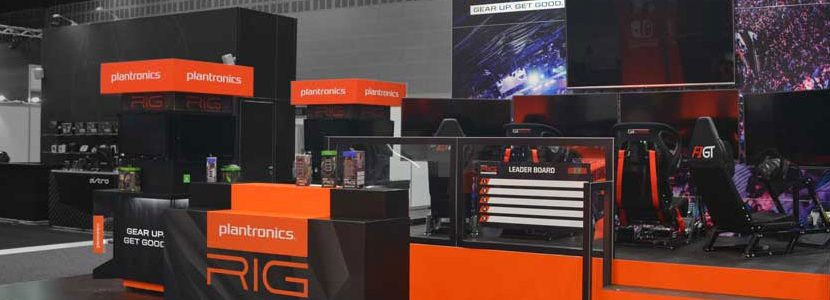 Plantronics Exhibition Stand 2