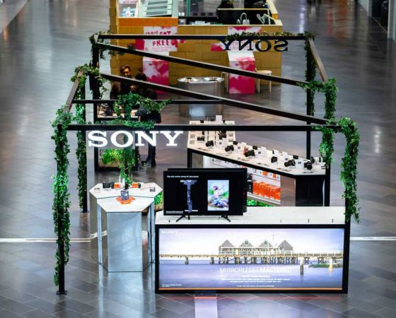 Sony Pop Up