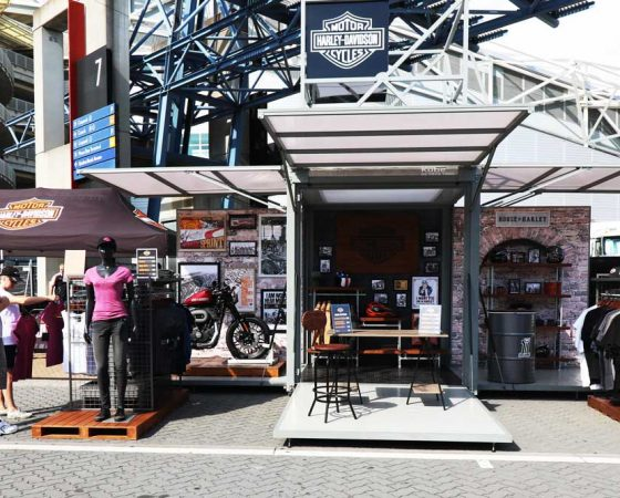 Exhibitionco Kube for Harley Davidson