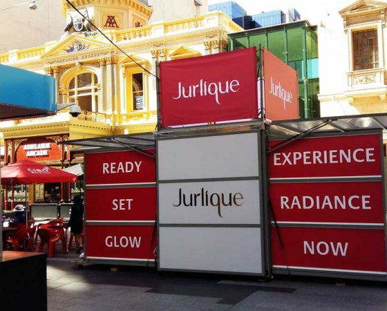 Exhibitionco Kube for Jurlique