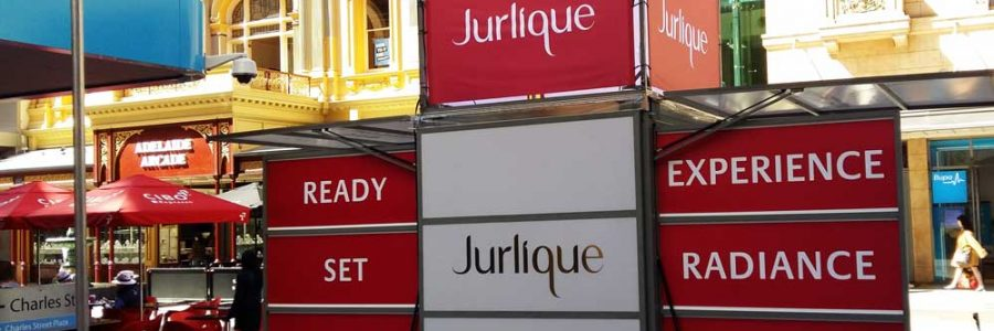 Exhibitionco Kube for Jurlique