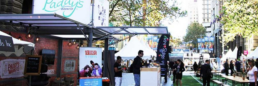 Exhibitionco Kube for Sydney Markets